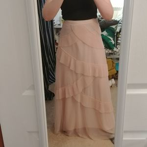Lauren Conrad blush skirt